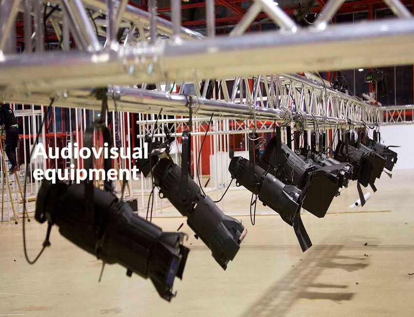 How we work audiovisual department