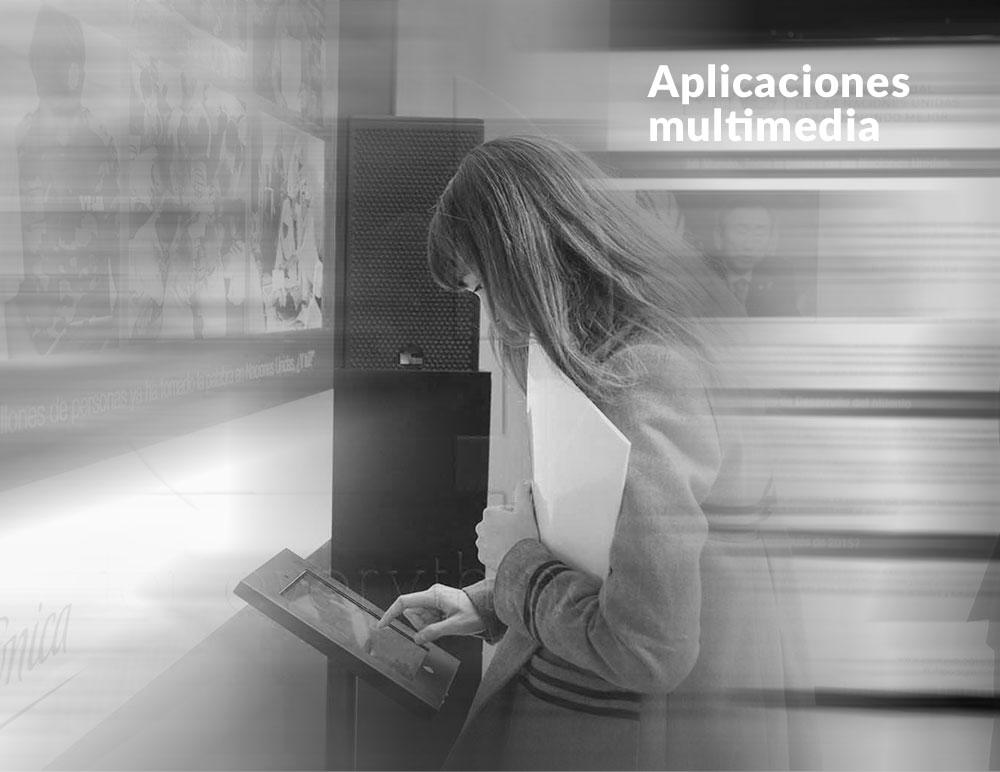Como trabajamos desarrollamos aplicaciones multimedia