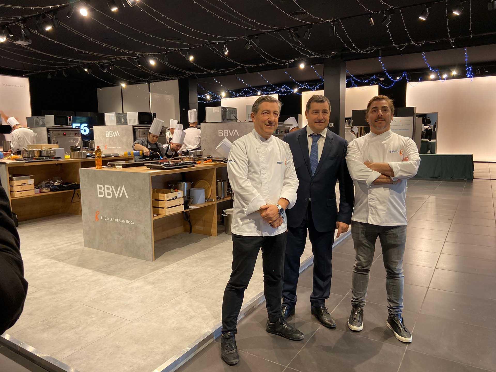 Event awards BBVA hospitality scholarships kitchen design