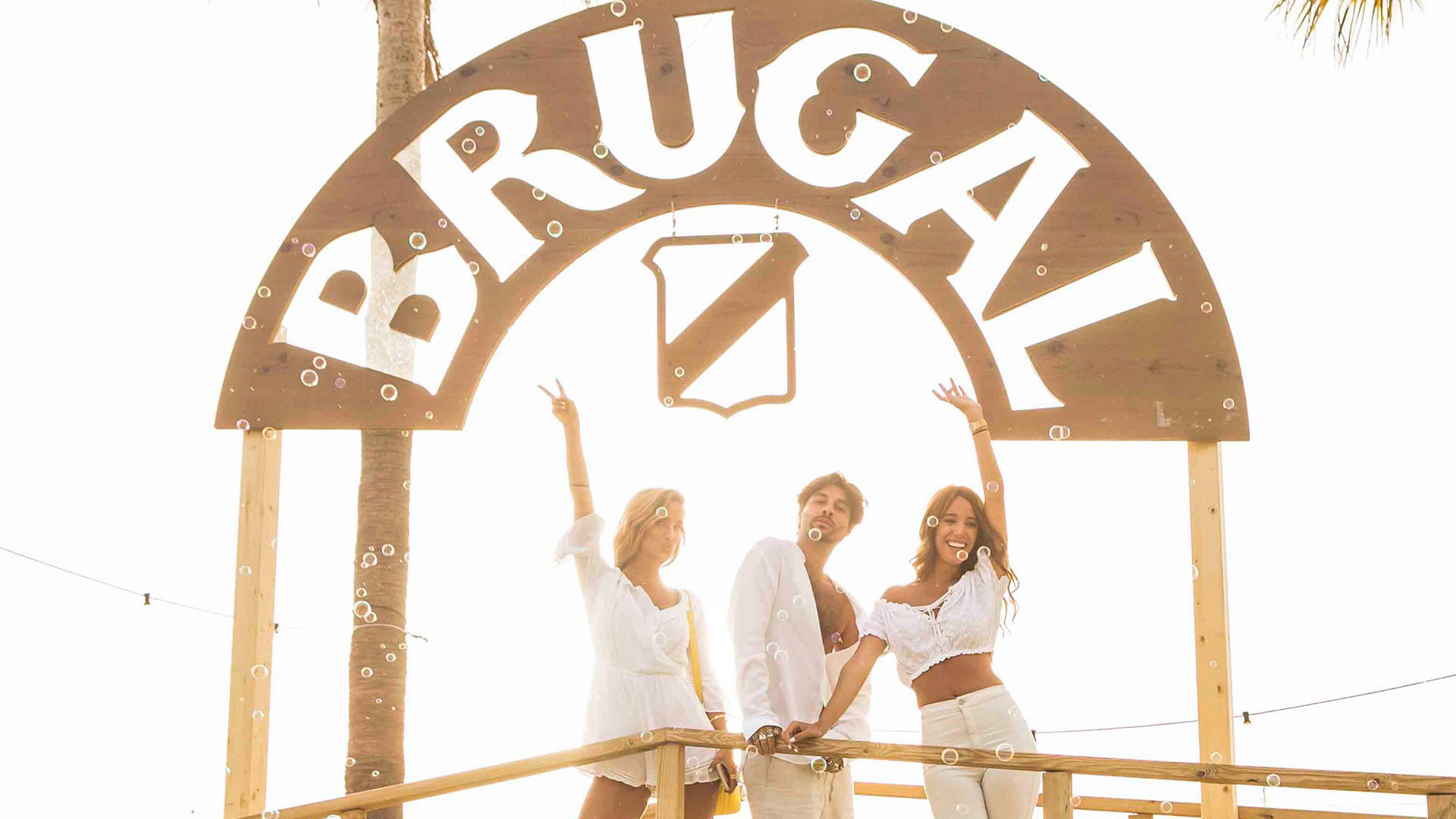 Ocean tarifa by brugal event. experiential hotel design and assembly