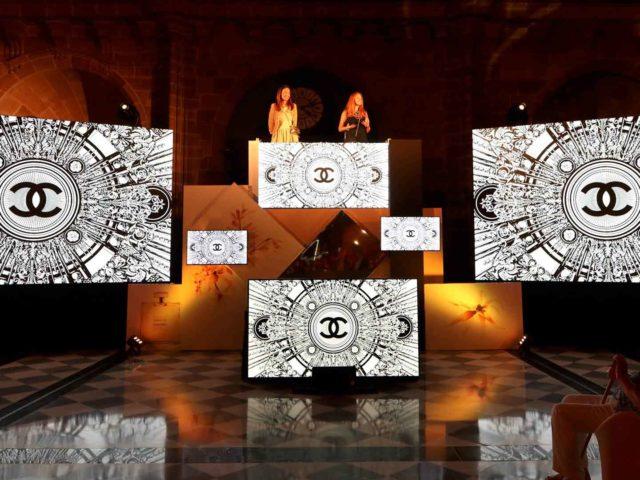 Chanel perfume presentation event. State design