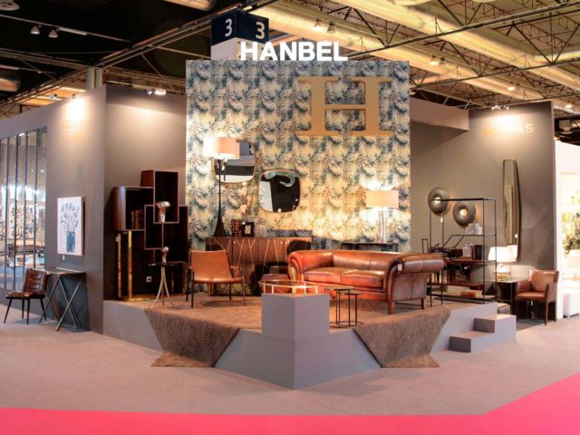 Hanbel stand design and construction