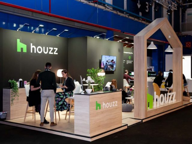 Houzz Stand. Design and construction