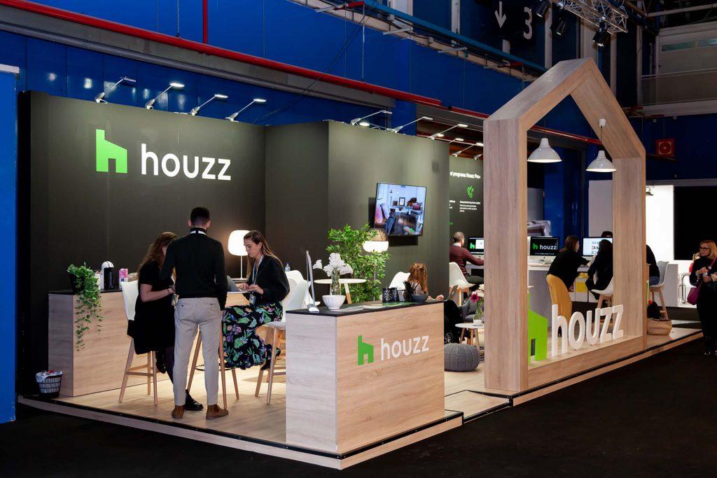 Stand Houzz. Diseño y construcción