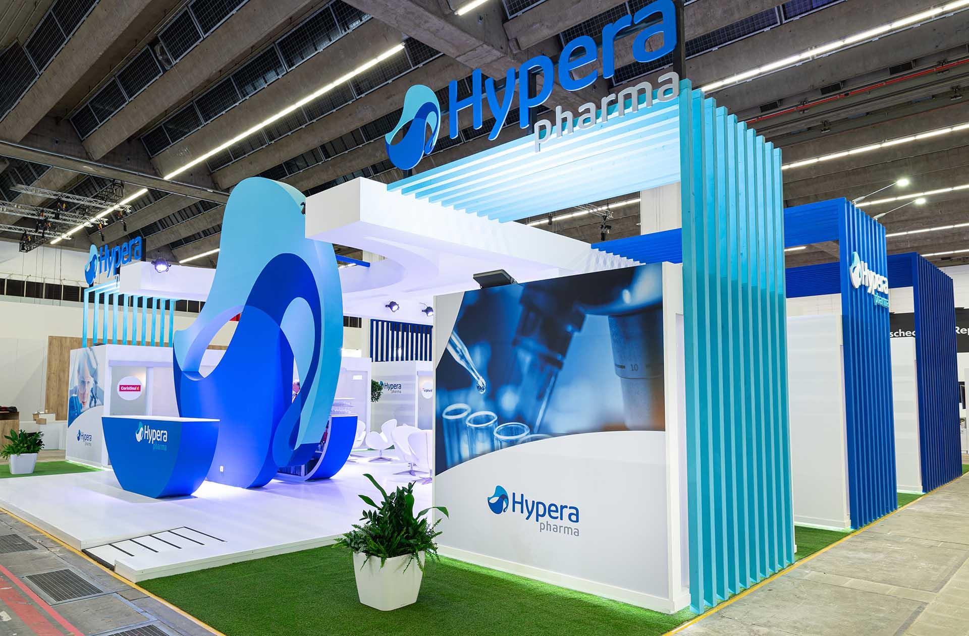 Stand Hypera diseño y construcción