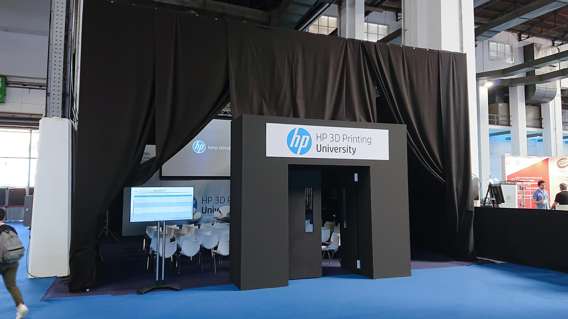 In(3D)dustry congress. Auditorium HP