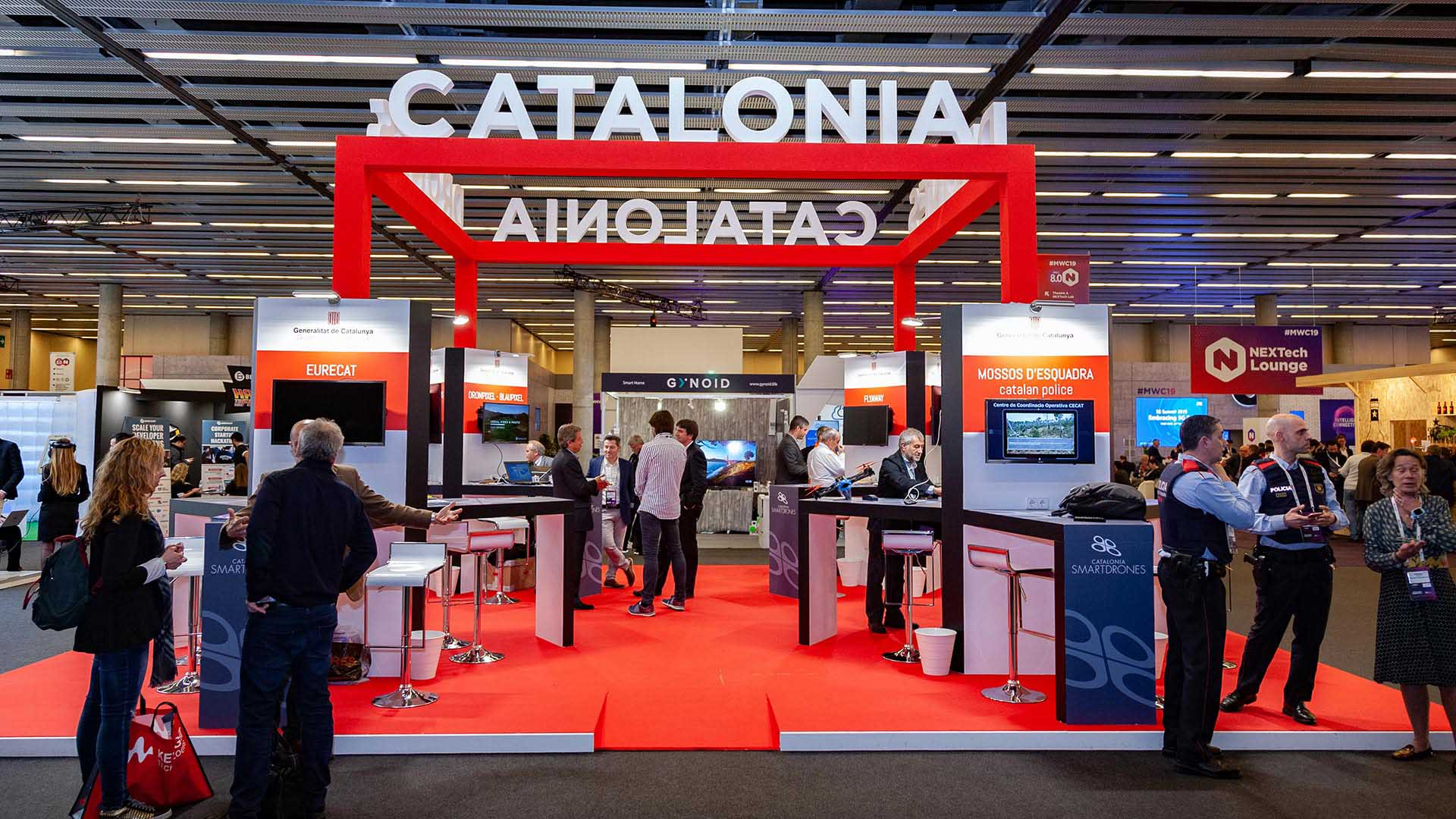 Mobile world congress. Diseño stand catalonia