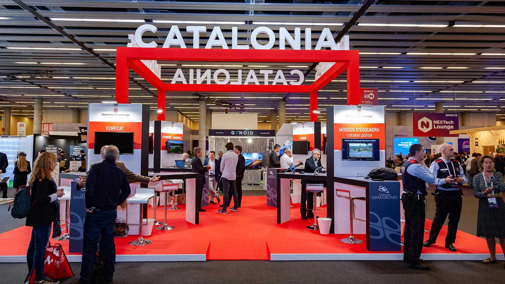 Mobile world congress. Catalonia stand design