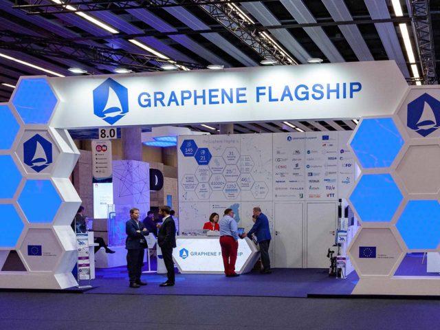 Mobile world congress. graphene stand design