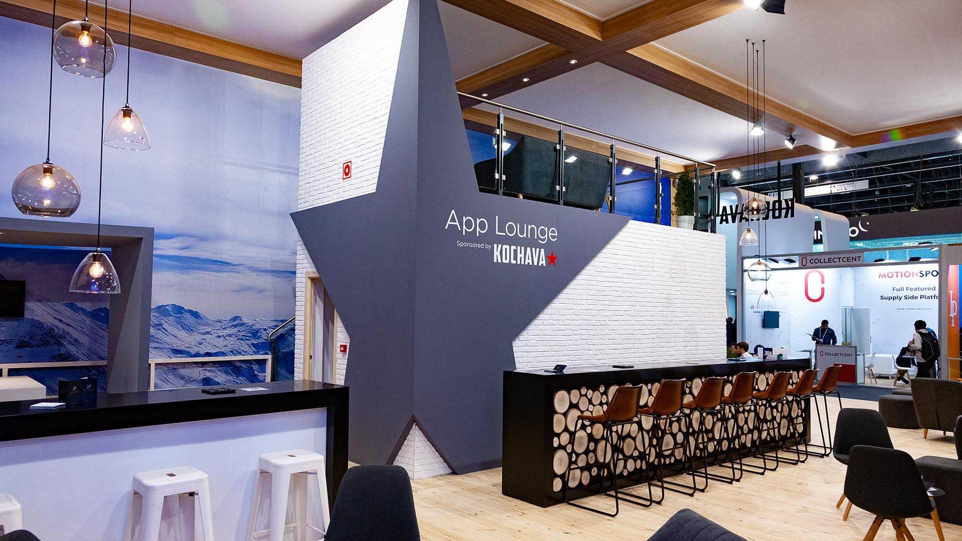 Mobile world congress. Kochava stand design