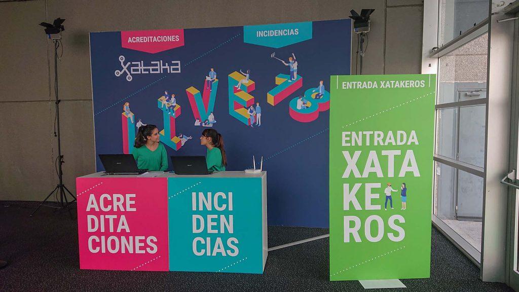 Xataca awards presentation event. Registration production
