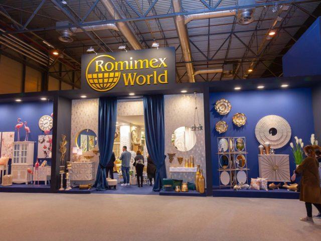 Rominex world stand. Stand design