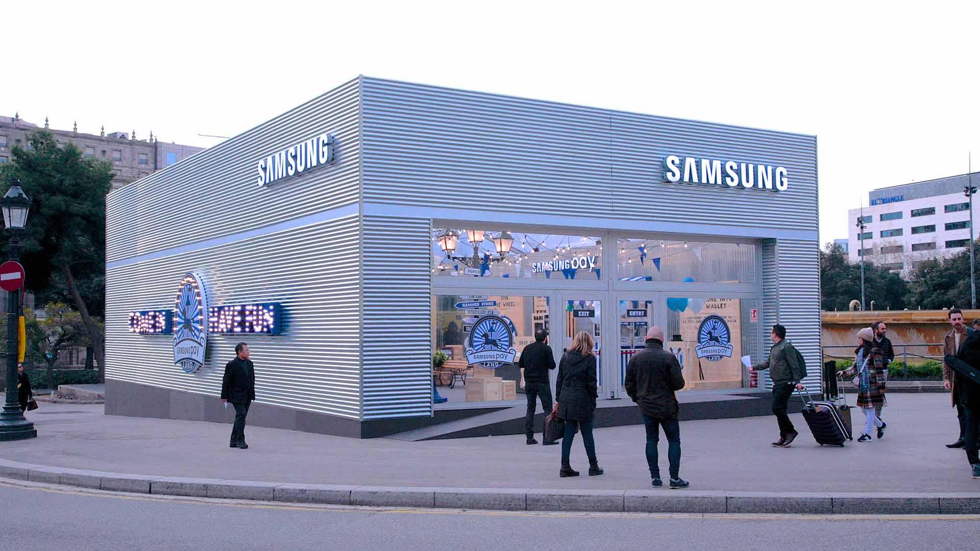Samsung Pay pop up. Installation pop up