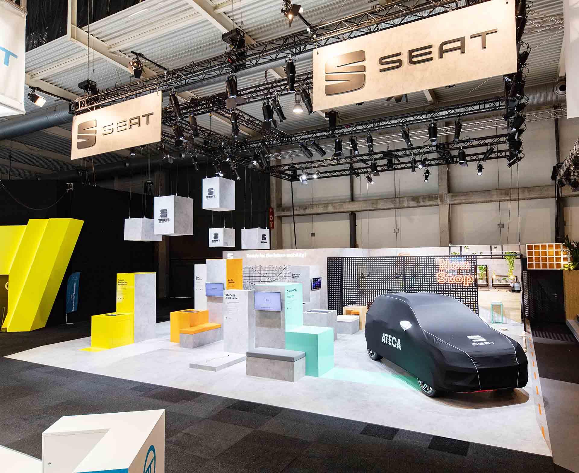 Stand Seat Smart City. Diseño y producción stand