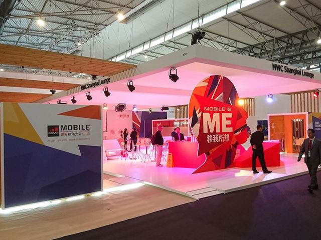 Stand for mobile world congress. Design and build