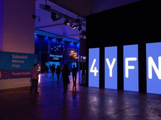 Producción Feria 4YFN. Diseño acceso