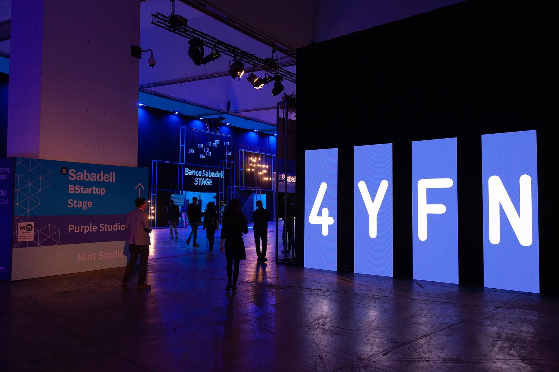 4YFN Exhibition Production. Access design