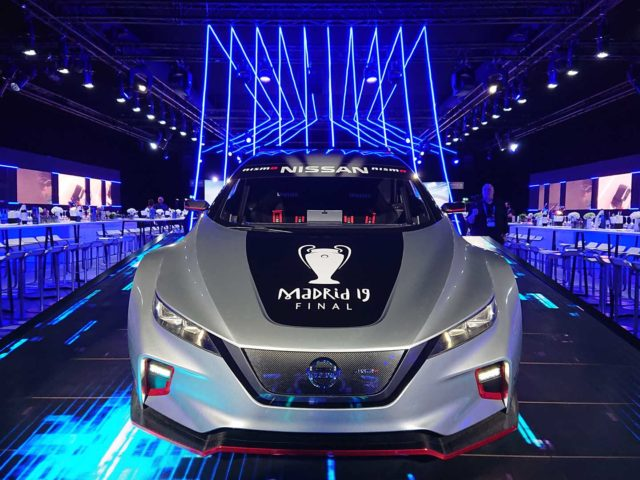 Nissan Champion League event. Design and organization