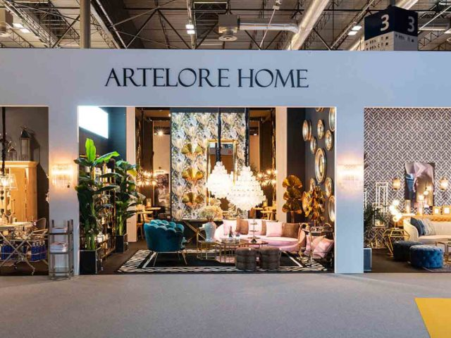 Stand Artelore. Diseño interior