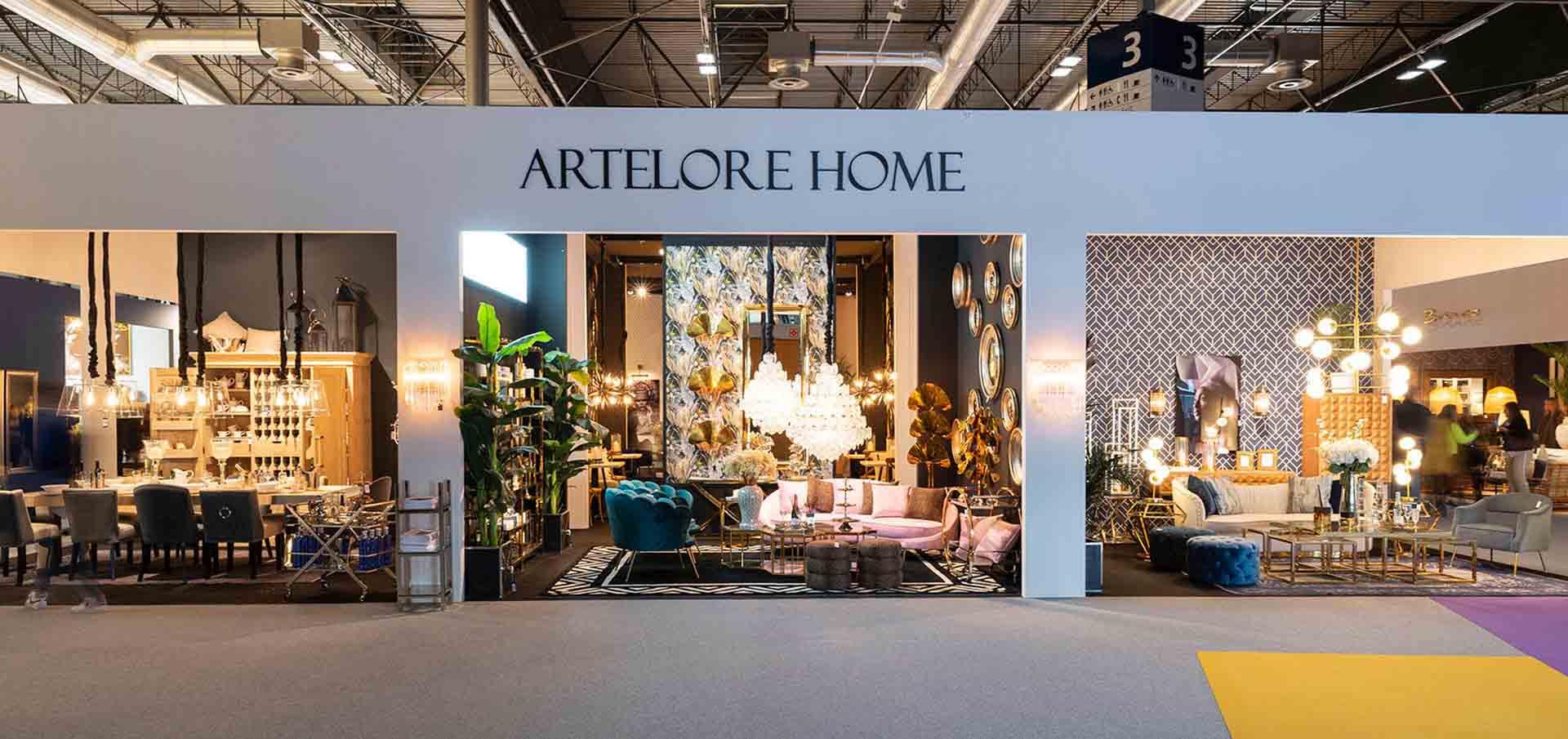 Artelore Stand. Interior design